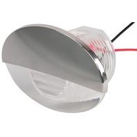 LED FLUSH MOUNT COURTESY LIGHT, OVAL-White Boat Light