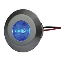 LED SNAP-IN COURTESY LIGHT-Courtesy Light, 1 Blue LED