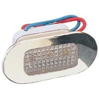 LED UTILITY LIGHT-Amber Light w/Clear Lens