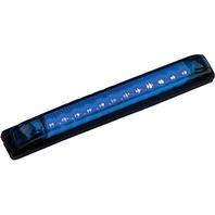 """LED STRIP LIGHTS-6"""" x 3/4"""", Blue LEDs"""