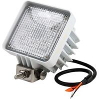 """LED SQUARE FLOOD LIGHT-4""""W x 5""""H x 3-1/2""""D, White"""