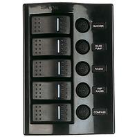 WAVE ROCKER SWITCH FUSE PANEL-5 Switch Fuse Panel