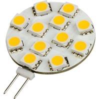 LED G4 BASE BULB-Horizontal G4 Base, 12 Warm White LEDs, Each