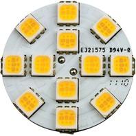 LED G4 BASE BULB-Vertical G4 Base, 12 Warm White LEDs, Each