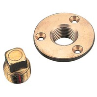 "18751 Bronze Brass GARBOARD DRAIN PLUG 1/2"" DIA-Garboard Drain & Plug"