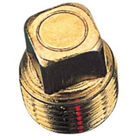 "BRONZE GARBOARD DRAIN PLUG 2"" DIA-Replacement Plug"