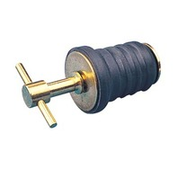 "T-HANDLE DRAIN PLUG-1"" Brass"