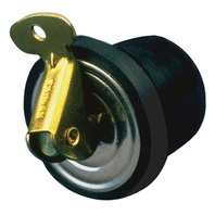 NEOPRENE & BRASS BAITWELL PLUGS-7/8""