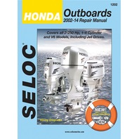 SERVICE MANUAL Honda Outboards 2002-14 All 2-225 HP 1 to 4-CYL & V6, 4-stroke