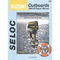 SELOC SERVICE MANUAL for Suzuki Outboards 1988-2003 2-225 Hp 2-stroke