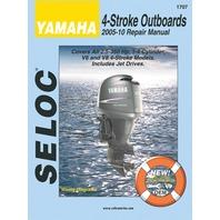 SELOC SERVICE MANUAL, YAMAHA-OB  2005-10, 2.5-350 Hp, 1- 4-cylinder, V6 & V8