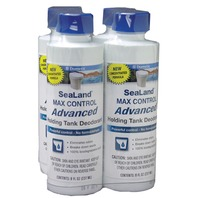 SEALAND MAX CONTROL ADVANCED LIQUID HOLDING TANK DEODORANT-8 oz Liquid, 4-Pack