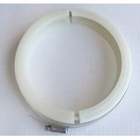 SEALAND TOILET REPAIR KIT-1/2 Clamp Kit f/China Bowl Plastic Base w/Left Pedal