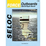 SIERRA SELOC MARINE ENGINE REPAIR MANUALS, CHRYSLER/FORCE-Force 1984-99,  all 3 -150 Hp, 1-5-cylinder, 2-stroke