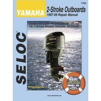 SIERRA SELOC MARINE ENGINE REPAIR MANUALS, YAMAHA-1997-2014, 2-250 Hp all 2-stroke incl. Jet Drives