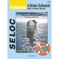 SIERRA SELOC MARINE ENGINE REPAIR MANUALS, YAMAHA-2005-10, 2.5-350 Hp, 1- 4-cylinder, V6 & V8 4-stroke incl. Jet Drives