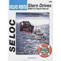 SIERRA SELOC REPAIR MANUAL, VOLVO/PENTA 2003-2012, all gas engines and drive systems