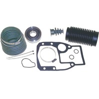 OMC STERNDRIVE/COBRA Bellows Kit; Incl Outdrive Gasket Set, U-Joint Bellows, Exhaust Bellows, Shift Cable Bellows, Gimbal Bearing, Hose Clamp; OMC Cobra without Cone Clutch
