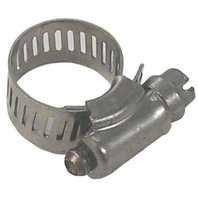 """STAINLESS STEEL HOSE CLAMPS-Std 006, 5/16"""" - 7/8"""""""