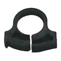 NYLON SNAPPER CLAMPS-Size 8, .360-.406, Black