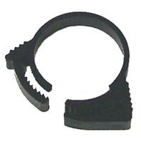 NYLON SNAPPER CLAMPS-Size 14, .750-.875, Black