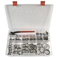 Oetiker Clamp Kit for Johnson/Evinrude, Replaces 787133, 787145