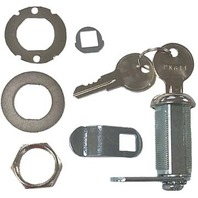 "CL49330 Sierra Marine CAM LOCK Kit w/Hardware & Keys, 1-1/8"" Depth"