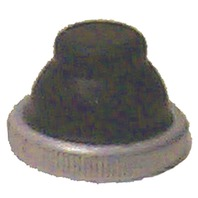 BOOT NUT FOR PUSH BUTTON SWITCH-Boot Nut, Brass