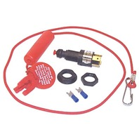 KILL SWITCH, J/E, OMC, YAMAHA-Kill Switch w/Straight Lanyard