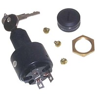 Boat ELECTRONIC IGNITION SWITCH, 3-POSITION WITH CAP-Off-On-Start Switch w/Cap