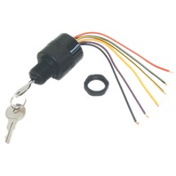 MERCURY IGNITION SWITCH, 3-POSITION, MAGNETO, 6 WIRE-Off-Run-Start Switch
