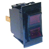 SIERRA ILLUMINATED ROCKER SWITCH-On-Off-On, SPDT  FIG 8