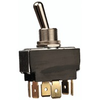 HEAVY DUTY 25 AMP TOGGLE SWITCH-Mom On/Off/Mom On, SPDT  FIG 4