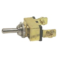 TOGGLE SWITCHES, BRASS-On-Off, Brass