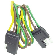 """WH10320 3-Wire Flat Connector, 16 ga, 12"""""""