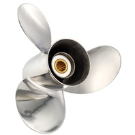 TITAN (F) Stainless 17.3 X 25 Propeller for Mercruiser Bravo II Stern Drives