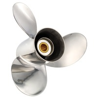 13.3 X 19 Pitch Stainless Titan Propeller for YAMAHA/NISSAN/TOHATSU 60-140HP