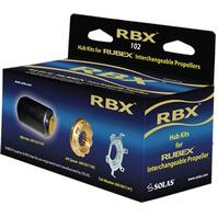 RUBEX RBX  RUBBER HUB KIT Series E: Mercury/Mariner/Mercruiser; Bronze Hub