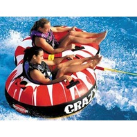 "53-1450 Sportsstuff CRAZY 8 TUBE, 2-Rider, 75"" x 48"" Towable"