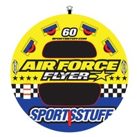 53-1646 Sportsstuff AIR FORCE DECK FLYER TUBE, 1-Rider, 60""