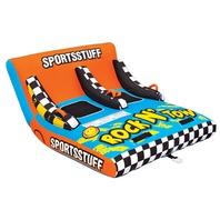 "SPORTSSTUFF ROCK 'N' TOW 2-Rock 'N"" Tow 2, 1 or 2 Rider, 84"" x 64"""