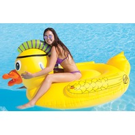 "SPORTSSTUFF PUNK DUCK POOL & BEACH FLOAT-Punk Duck Float, 1-2 Person, 70"" x 57"""