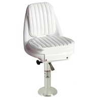Springfield Marine Seafarer Chair Package, White, ABYC Code B