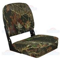 ECONOMY BOAT FOLD DOWN SEAT, CAMOUFLAGE-Mossy Oak Break Up