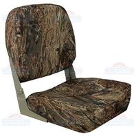 ECONOMY BOAT FOLD DOWN SEAT, CAMOUFLAGE-Mossy Oak Duck Blind