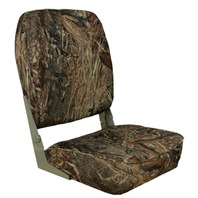 HIGH BACK FOLD DOWN SEAT, CAMOUFLAGE-High Back Fold Down Mossy Oak Duck Blind