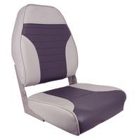 HIGH BACK FOLD DOWN SEAT-High Back Fold Down Gray/Charcoal