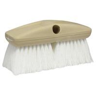 "8"" STANDARD WASH BRUSH-Standard Brush, Stiff Scrub (White)"