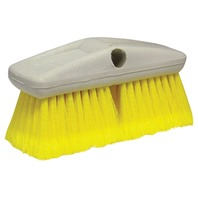 "8"" STANDARD WASH BRUSH-Standard Brush, Soft w/Flagged Ends (Yellow)"