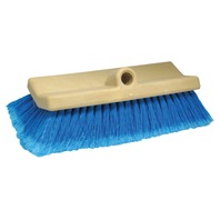 "10"" BIG BOAT BI-LEVEL BRUSH, Medium w/Flagged Ends (Blue)"